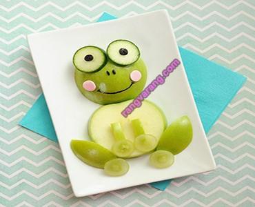 خلاقیت در تزیین میوه کودک