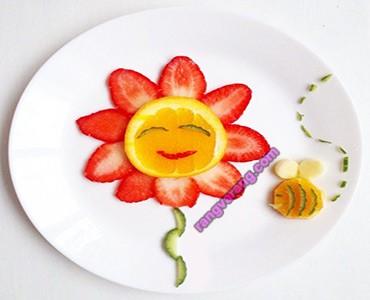 انواع تزیین میوه کودک
