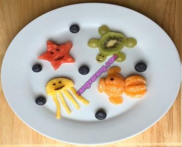تزیین میوه کودک