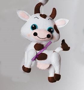 مدل گاو با نمد جدید