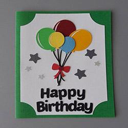 کارت دست ساز تولد