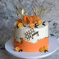 عکس کیک پاییزی